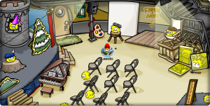 Lighthouse puffle party!