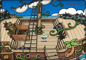 barco sin plantas!
